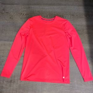 CHAMPION POWER CORE FITTED LONG SLEEVE NEON TEE